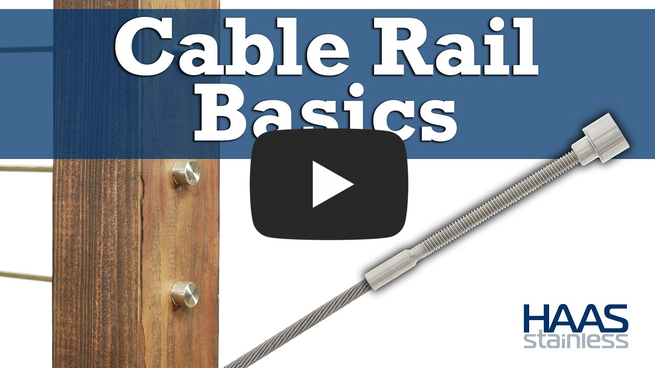 Cable Rail Instruction video