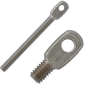 Stainless Steel Threaded Eye Tabs