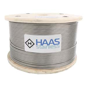 Type 316 1x19 Stainless Cable