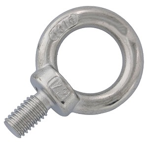"1/2"" x 7/8""  Machinery Eye Bolt, Stainless Steel Image 1"