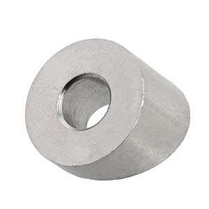 "1/4"" Grade 316 Stainless Steel Angle Washer Image 1"