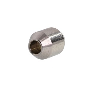 "1/8"" Stainless Steel Button Image 1"