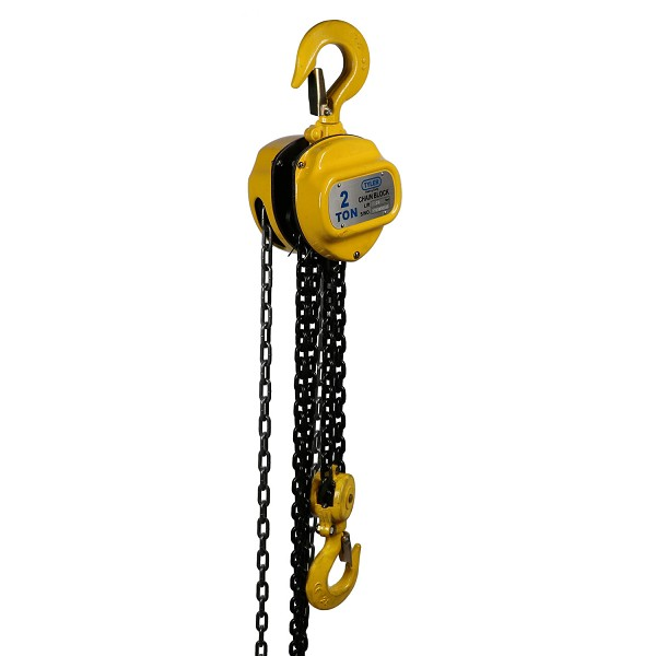 2 Ton X 20 Foot Lift, Tyler Tool Chain Hoist