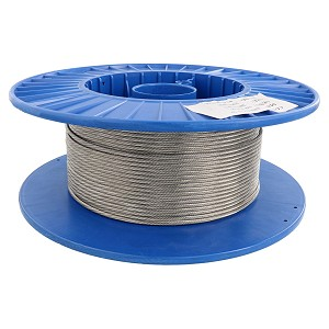 "1/8"" X 200', 1x19, Type 316 Stainless Steel Cable Reel Image 1"