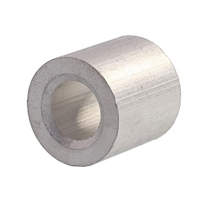 "5/16"" Aluminum Button Stop (Bag Qty. of 50) Image 1"