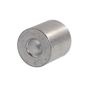 "1/4"" Aluminum Button Stop (Bag Qty. of 50) Image 1"