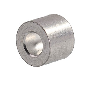 "3/16"" Aluminum Button Stop (Bag Qty. of 100) Image 1"